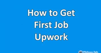 how to get first job on upwork