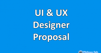 ui and ux designer proposal sample
