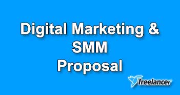 Digital Marketing and SMM Proposal