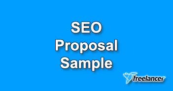 SEO Proposal Sample for Freelancer