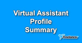 Virtual Assistant Profile Summary